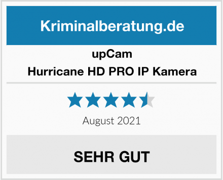 upCam Hurricane HD PRO IP Kamera Test
