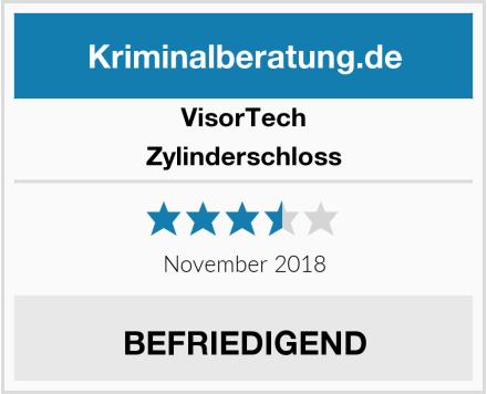 VisorTech Zylinderschloss Test