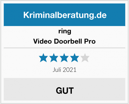 ring Video Doorbell Pro Test