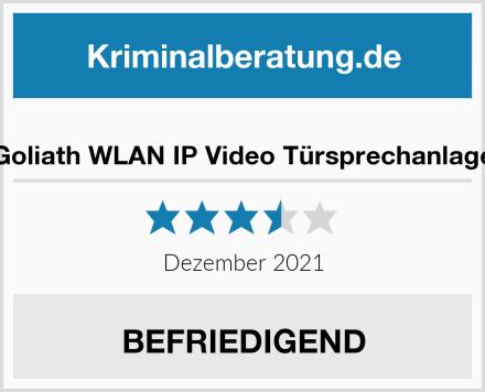 Goliath WLAN IP Video Türsprechanlage Test