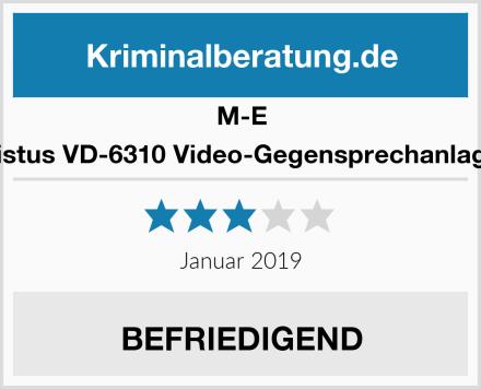 M-E Vistus VD-6310 Video-Gegensprechanlage Test