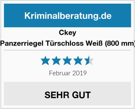 Ckey Panzerriegel Türschloss Weiß (800 mm) Test