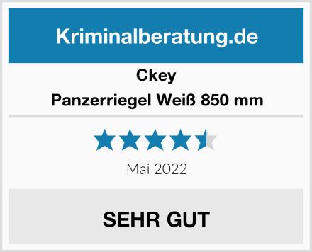 Ckey Panzerriegel Weiß 850 mm Test
