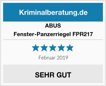 ABUS Fenster-Panzerriegel FPR217 Test