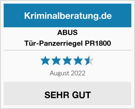 ABUS Tür-Panzerriegel PR1800 Test