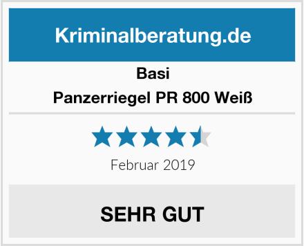 Basi Panzerriegel PR 800 Weiß Test