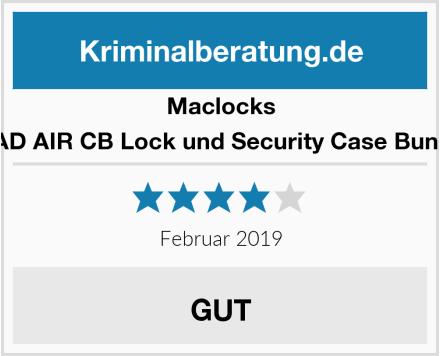 Maclocks IPAD AIR CB Lock und Security Case Bundle Test