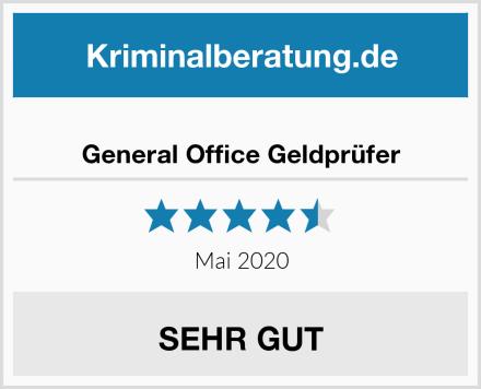 General Office Geldprüfer Test
