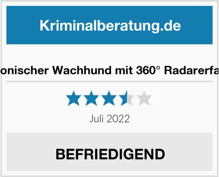 Elektronischer Wachhund mit 360° Radarerfassung Test