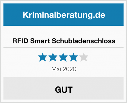 RFID Smart Schubladenschloss Test
