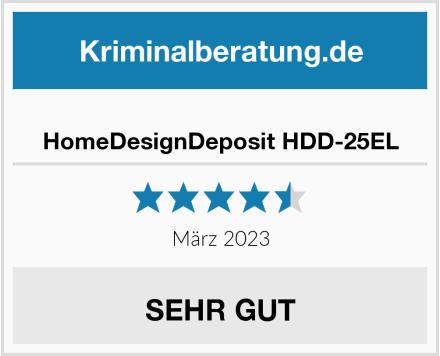 No Name HomeDesignDeposit HDD-25EL Test
