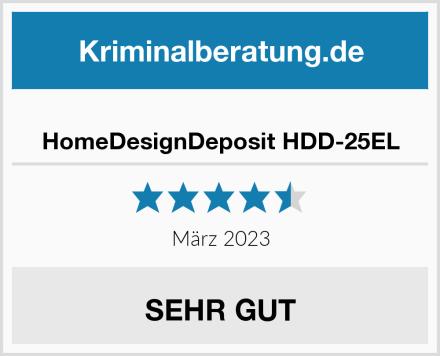 HomeDesignDeposit HDD-25EL Test