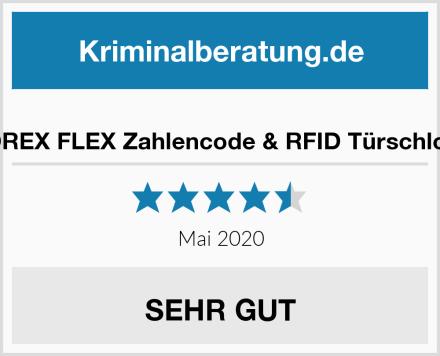 SOREX FLEX Zahlencode & RFID Türschloss Test