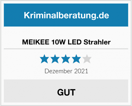 No Name MEIKEE 10W LED Strahler Test