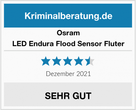 Osram LED Endura Flood Sensor Fluter Test
