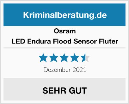 Osram LED Endura Flood Sensor Fluter Test