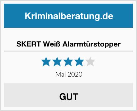 No Name SKERT Weiß Alarmtürstopper Test
