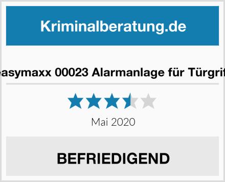 easymaxx 00023 Alarmanlage für Türgriff Test