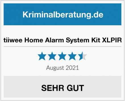 tiiwee Home Alarm System Kit XLPIR Test
