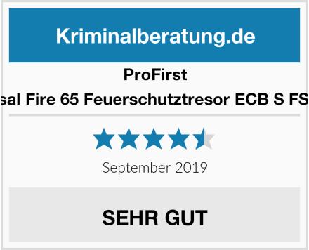 Profirst Versal Fire 65 Feuerschutztresor ECB S FS60P Test
