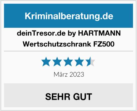 deinTresor.de by HARTMANN Wertschutzschrank FZ500 Test
