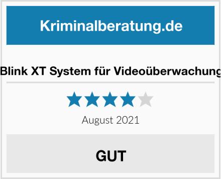 Blink XT System für Videoüberwachung Test