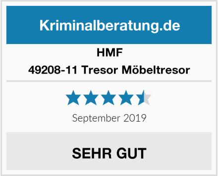 HMF 49208-11 Tresor Möbeltresor Test