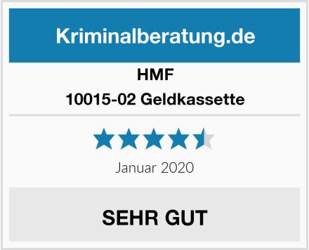 HMF 10015-02 Geldkassette Test