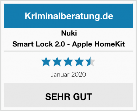 Nuki Smart Lock 2.0 - Apple HomeKit Test