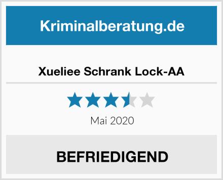 Xueliee Schrank Lock-AA Test