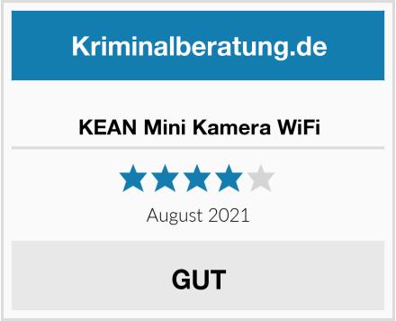 KEAN Mini Kamera WiFi Test