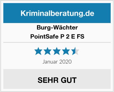 Burg-Wächter PointSafe P 2 E FS Test