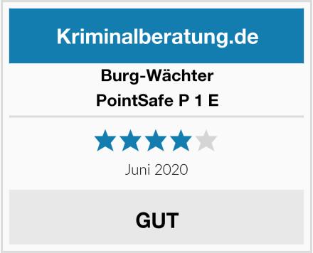 Burg-Wächter PointSafe P 1 E Test