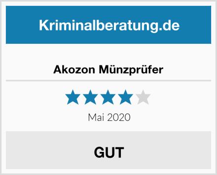 Akozon Münzprüfer Test