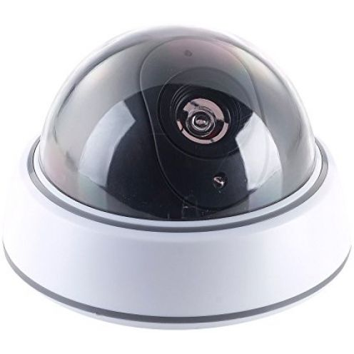 VisorTech Kamera Attrappe Dome