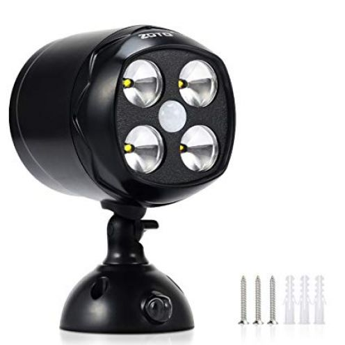 ZOTO LED Drahtloser Batteriebetriebener Strahler
