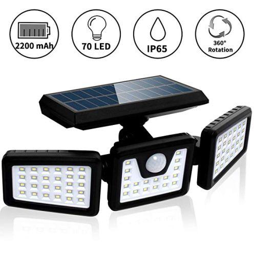 FLOWood Solarlampe