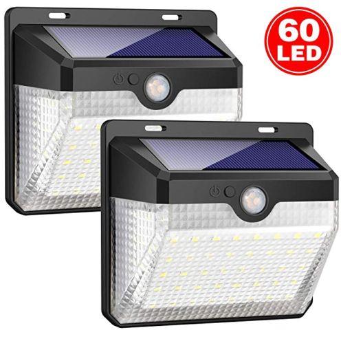 iPosible 60 LED Solarlampen mit Bewegungsmelder