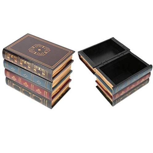 Hztyyier Buch-Aufbewahrungsbox