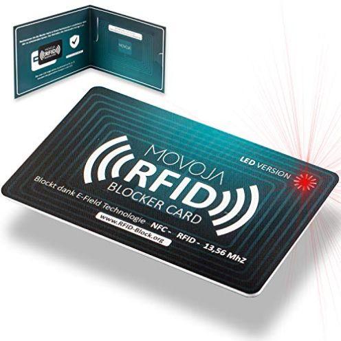 Mojova RFID Blocker Karte