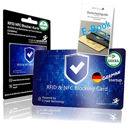 Makaka on the Run RFID Blocker Karte
