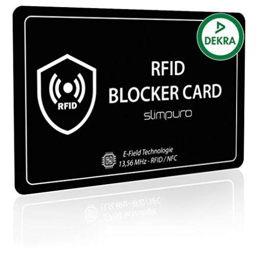 Slimpuro RFID Blocker Karte