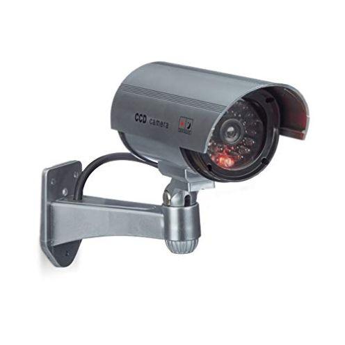 Relaxdays Dummy Kamera mit LED-Licht